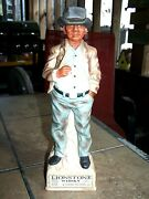 1969 Casual Indian Lionstone Whiskey Porcelain Decanter