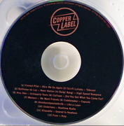 Copper Label By Various Artists Cd - Disc Only
