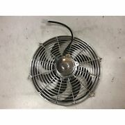 Gm Chevy Streetrods 16 Inch Chrome Radiator Engine Fan 120w Cooling Performance
