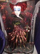 The Red Queen Iracebeth Doll 17 Limited Edition 1 Of 4000 Disney Ages 6+ New