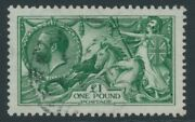 Sg 403 Andpound1 Deep Green Spec N722. Very Fine Used Good Deep Colour Well...