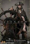 Hot Toys 1/6th Dx06 Pirates Of The Caribbean Captain Jack Sparrow Free Shipping