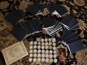Coin Set Of Indian Tribal Nation Series .999 Fine Silver Medals With Books