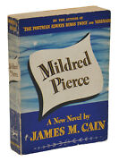 Mildred Pierce By James M. Cain Advance Reading Copy First Edition 1941