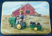Smith And Wesson John Deere Tractor Ride Knife And Tin
