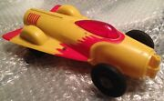 1950's Vintage Ideal Toy Company Turbo Jet Car Friction Parts Or Restore