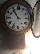 New Haven Dutch Inlay Clock.from 1800s