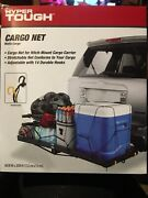 Hyper Tough Cargo Net For Hitch Mounted Cargo Carrier Adjustable With 14 Hooks