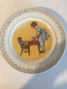 2 - Norman Rockwell Decorative 8 Plates Magic Moments Of Childhood