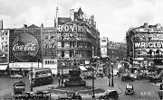 Br74929 Real Photo London Piccadilly Double Decker Bus Wrigley Coca Cola Uk