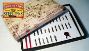 Artistic Hand Crafted Calligraphy Pen Set Of 42 Antique Nibs + 3 Dip Pens Cml2