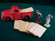 20 Ho Scale 4' X 8' Sheets T1-11 Plywood Lumber Loads Construction Site Wood