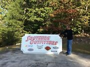 Large Plastic Sign Featuring Harley-davidson, Nascar, Tapout, Ufc Realtree, Nhra