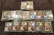 2014 Spectra Black Box - Rookie Combo Red Set - 17 Cards - Two 11s - Carr Rcs