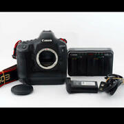 From Japan Canon Eos-1d X Body Digital Camera Confirmed Operation