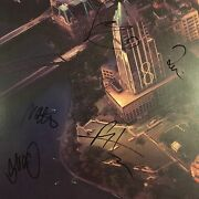 Foo Fighters Signed By All Sonic Highways Austin Tx Cover Dave Grohl + All