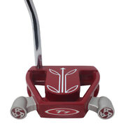 Superstroke Fatso 5.0 Black/white Grip On T7 Twin Engine Red Mallet 36 Putter