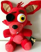 New Xlarge Five Nights At Freddyand039s 16 Inch Foxy Toy Fnaf. Plush Soft. Red