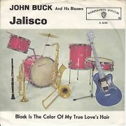 7 45 John Buck And His Blazers - Jalisco Rare Rockand039nand039roll Single Top Condition