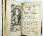1697 China Journey Illustrated Antique Travel Book Rare First Edition Le Compte