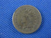 1864 Indian Head One Cent Coin