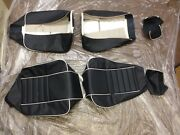 Rolls Royce Corniche Front Leather Seat Covers 85-93
