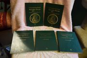 Lot Of 5 Sacagawea And Presidential Dollars Coin Books And 65 Coins 2000-2012 65