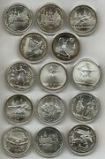 Russia Olympics Moscow 1980 Silver 28 Values @ F. D.c. @