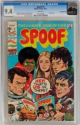 Spoof 1 Marvel 1970 Cgc 9.4 Nm Marie Severin Cover - Rocky Mountain Pedigree