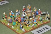 25mm Dark Ages / Anglo-saxon - Warriors 20 Figures - Inf 23172