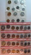 Lot Of 6 Austria Proof Sets 2-1965, 2-1969, 2-1970 Free Us Shipping