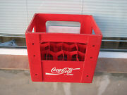Coca Cola Plastic Crate Vintage Red For 1.5l Bottles Empty Used Rare 90s Coke