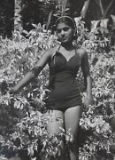 Philippe Halsman-ny Photographer-inscribed/stamped Gelatin Silver-beauty Pageant