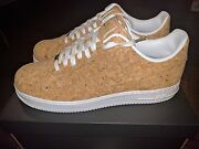 Nike Air Force 1 Low Cork White Championship Nba Finals Champagne Off Gum Id 15