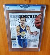 Sports Illustrated 2013 Curry First Year Newsstand Regional Cgc 9.4 None Higher