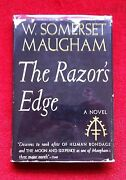 The Razorand039s Edge Signed By W Somerset Maugham To Louella Parsons 1945 Wartime Ed