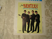 1960and039s Beatles Coloring Book Saalfield Coloring Book Cover Proof