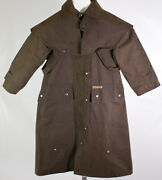 Morrisons Australia Western Duster Jacket Outback Oiled Canvas Women's Size 6
