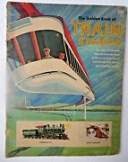 1966 The Golden Books Of Train Stamps By Lucille Schultz With The Lionel Corp.ny