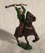 Timpo Wild West Series Wounded Cowboy Lead Figure Horse England Britains
