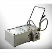 New 44l Oil Filter Oil Filtration System Filtering Machine For Frying Oil M