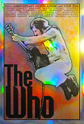 The Who Chuck Sperry  Concert Poster Set 2016 S/n Print Foil Set