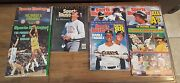 Vintage Sports Illustrated Magazine Lot - Joe Montana, Canseco, Clark, More