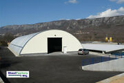 Steel Metal Arch Roof Quonset 42x60x17.5 Construction Equipment Storage Cover