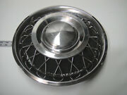 1963 64 Ford Fairlane Hubcap Wire Wheelcover - 1 Flaw