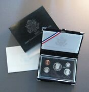 1998 U.s. Mint Premier Silver Proof Set - 5 Coin Set - Free Shipping Deal