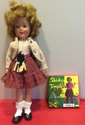 Vintage Shirley Temple Ideal Doll 12 Original Clothing W/tags Movie Included
