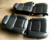 Bmw F02 Long Rear Heated Leather Seat Seats Back Cushion Electric And Massage