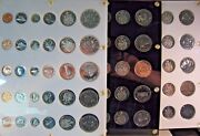 1965-1979 Canada Lot Run Of 16 Proof Like Coin Sets  Free U.s. Shipping