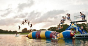 Water Bounce Inflatable Water Game Water Trampoline Sled Slide M